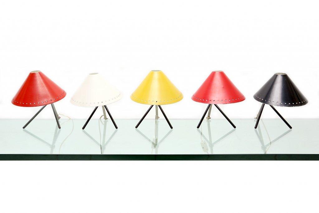 lampe de bureau pinocchio jaune par h th j a busquet pour hala 1953 en vente sur pamono. Black Bedroom Furniture Sets. Home Design Ideas