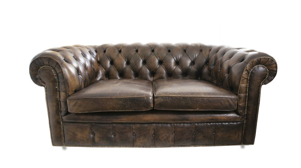 Chesterfield Leather Sofa, 1968 for sale at Pamono