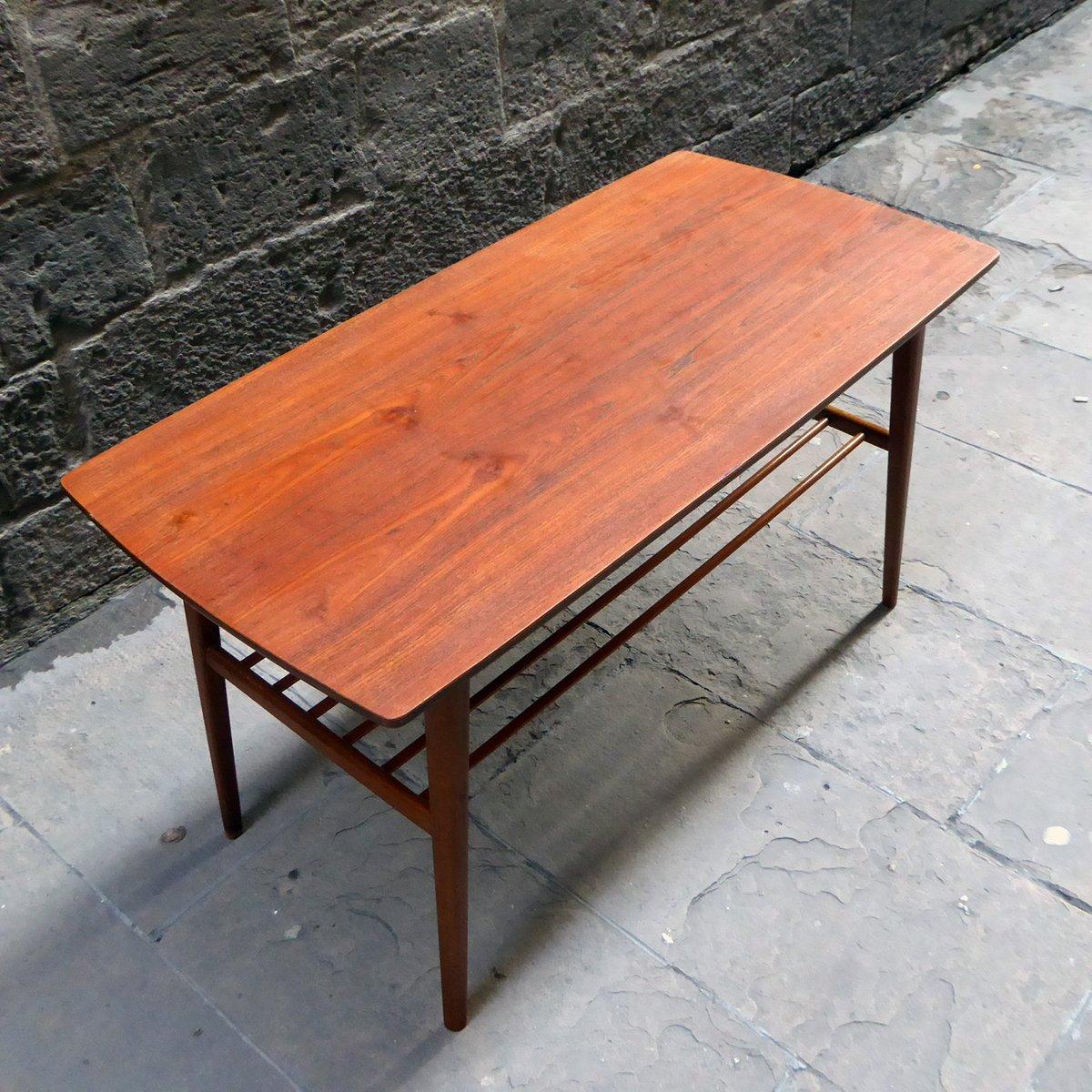 Mid Century Danish Coffee Table For Sale At Pamono