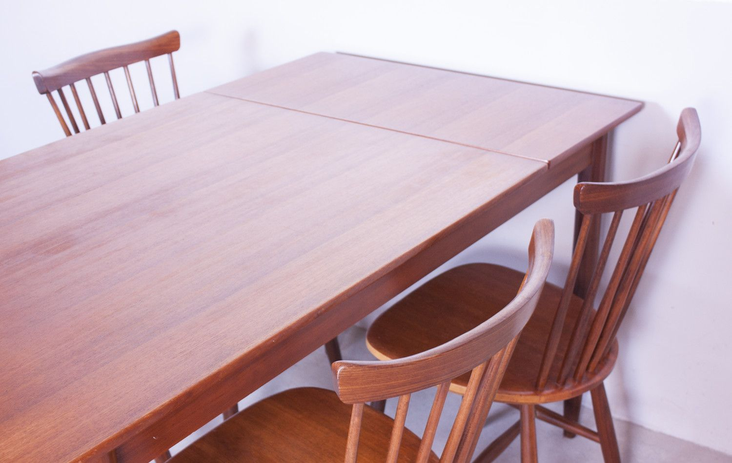 Vintage Danish Extendable Teak Dining Table For Sale At Pamono