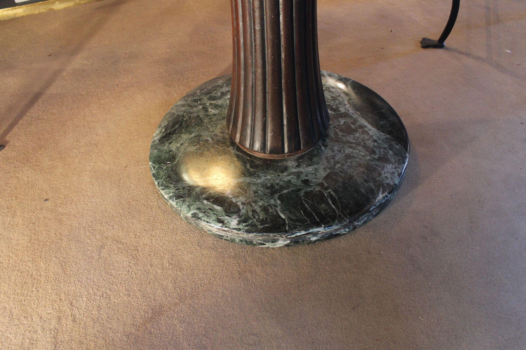 italienischer palisander und marmor tisch von osvaldo borsani 1950er bei pamono kaufen. Black Bedroom Furniture Sets. Home Design Ideas