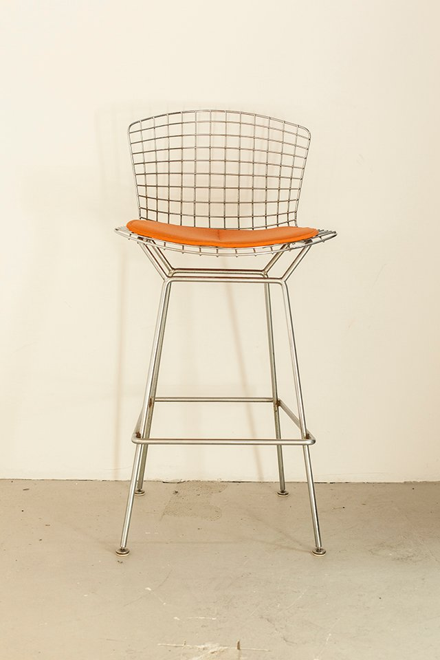Bar stool by harry bertoia for knoll international 1972 for sale at pamono - Tabouret bar bertoia ...