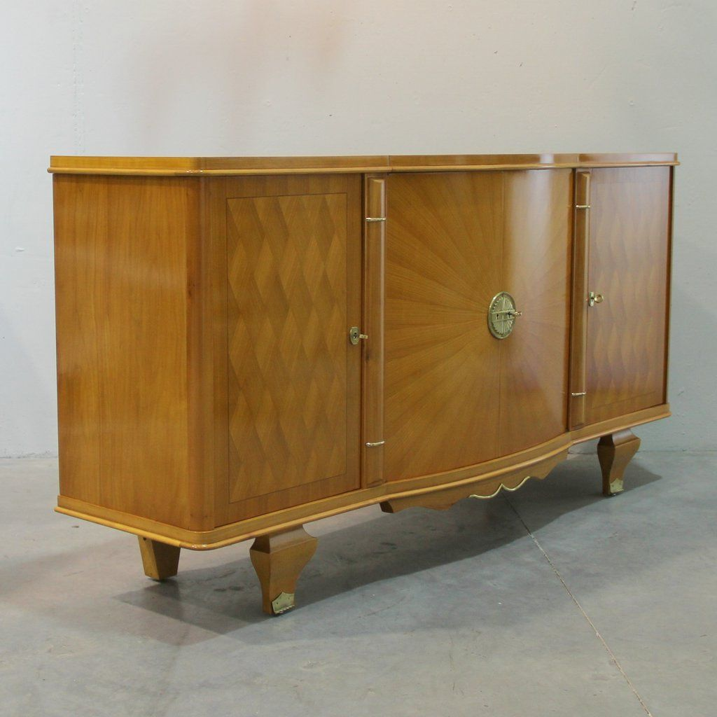 french art deco sideboard 1940s for sale at pamono. Black Bedroom Furniture Sets. Home Design Ideas