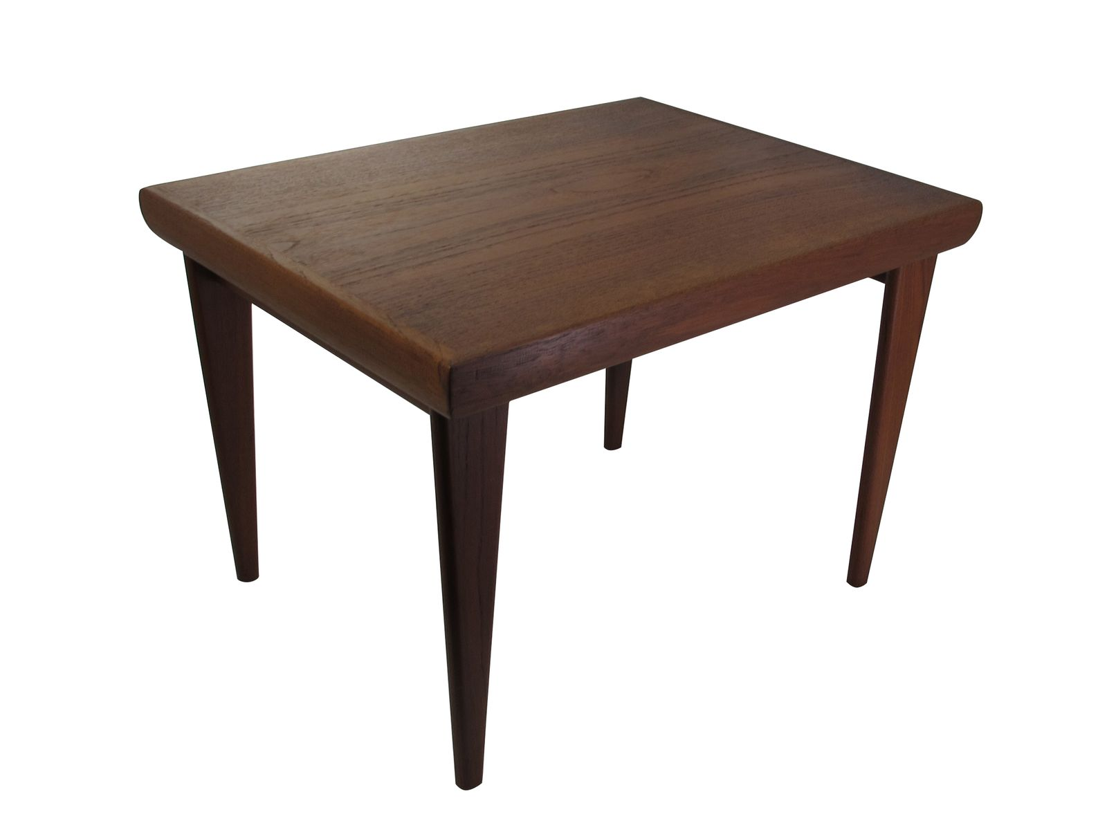 Solid teak folding coffee table for sale at pamono Folding coffee table