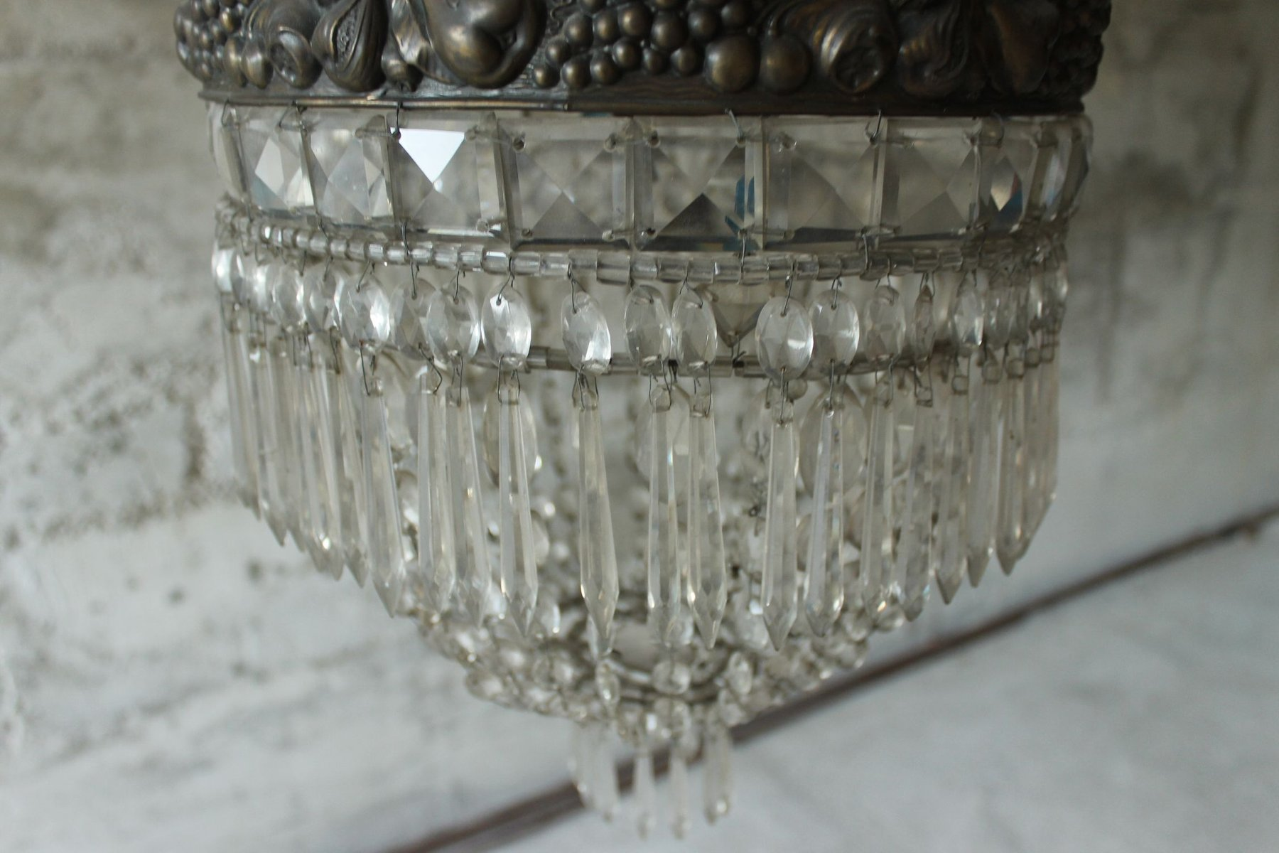 French art deco chandelier 1920s for sale at pamono french art deco chandelier 1920s arubaitofo Choice Image