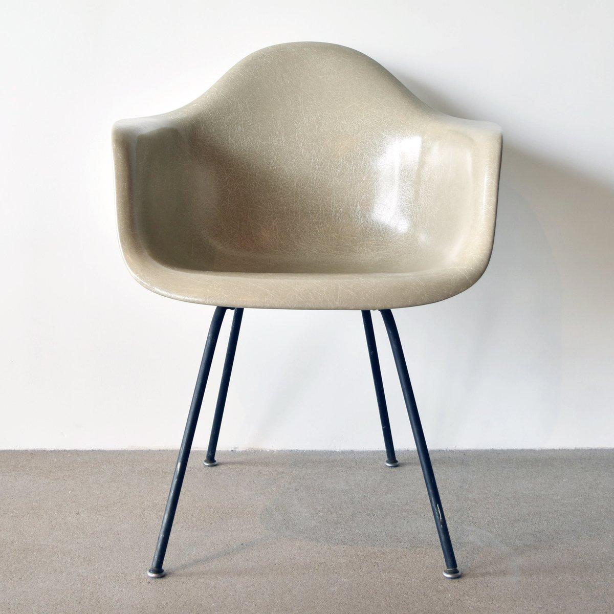 chaise dax par charles and ray eames pour herman miller 1955 en vente sur pamono. Black Bedroom Furniture Sets. Home Design Ideas