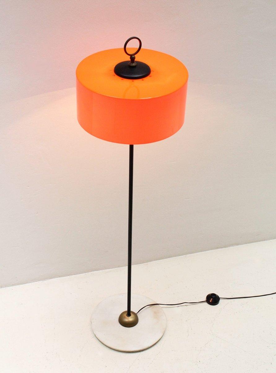 Orange Floor Lamp -