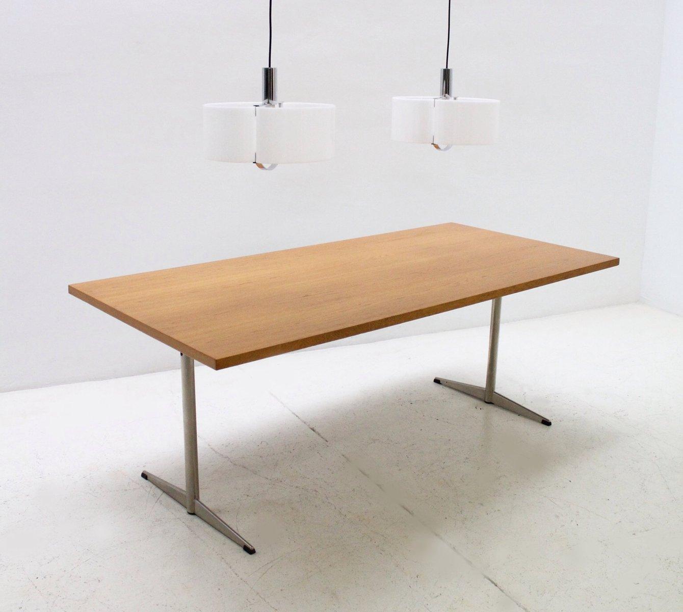 dänischer moderner eichenholz tisch, 1970er bei pamono kaufen, Esstisch ideennn