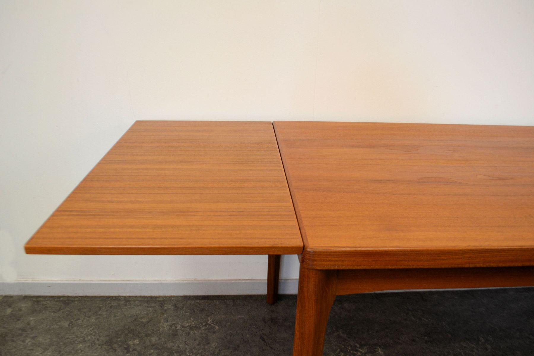 Extendable Teak Dining Table by Henning Kjearnulff for  : extendable teak dining table by henning kjearnulff for velje mobelfabrik 5 from www.pamono.ca size 1800 x 1200 jpeg 114kB