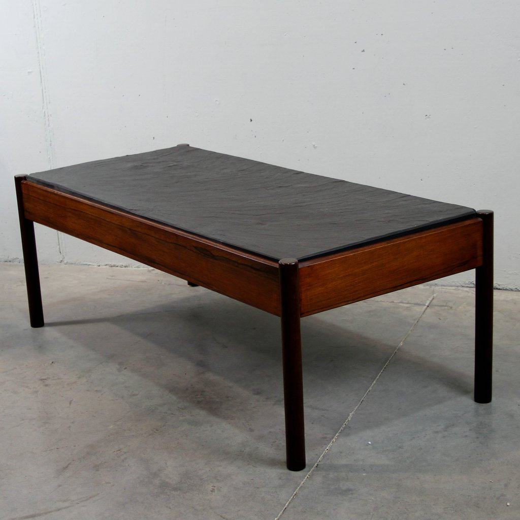 Nordic Rosewood Coffee Table For Sale At Pamono