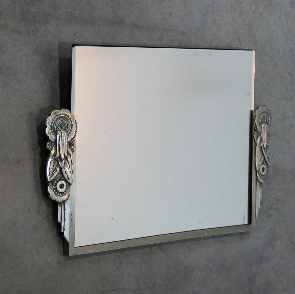 Art deco spiegel frankreich bei pamono kaufen for Spiegel wc deco