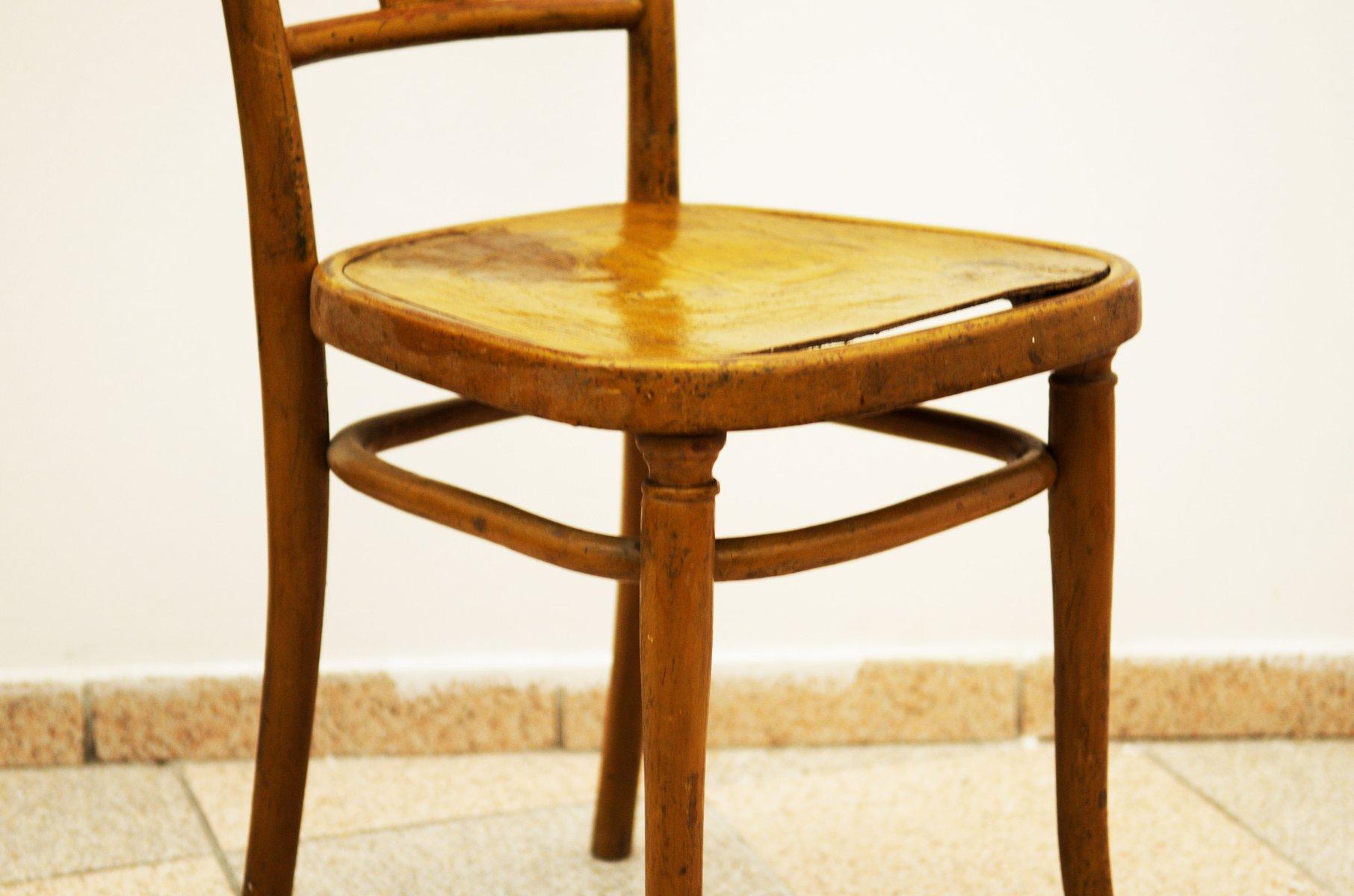 chaise n 221 de thonet 1900 en vente sur pamono. Black Bedroom Furniture Sets. Home Design Ideas
