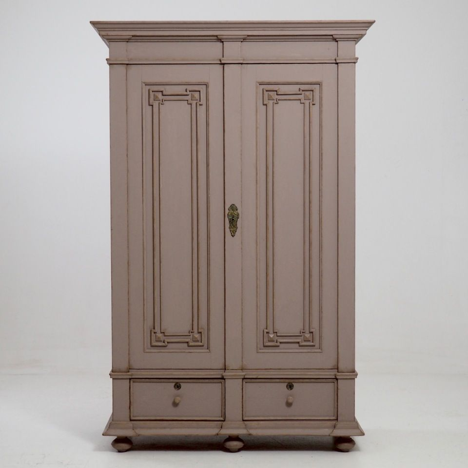 Antique Swedish Two Door Cabinet For Sale At Pamono