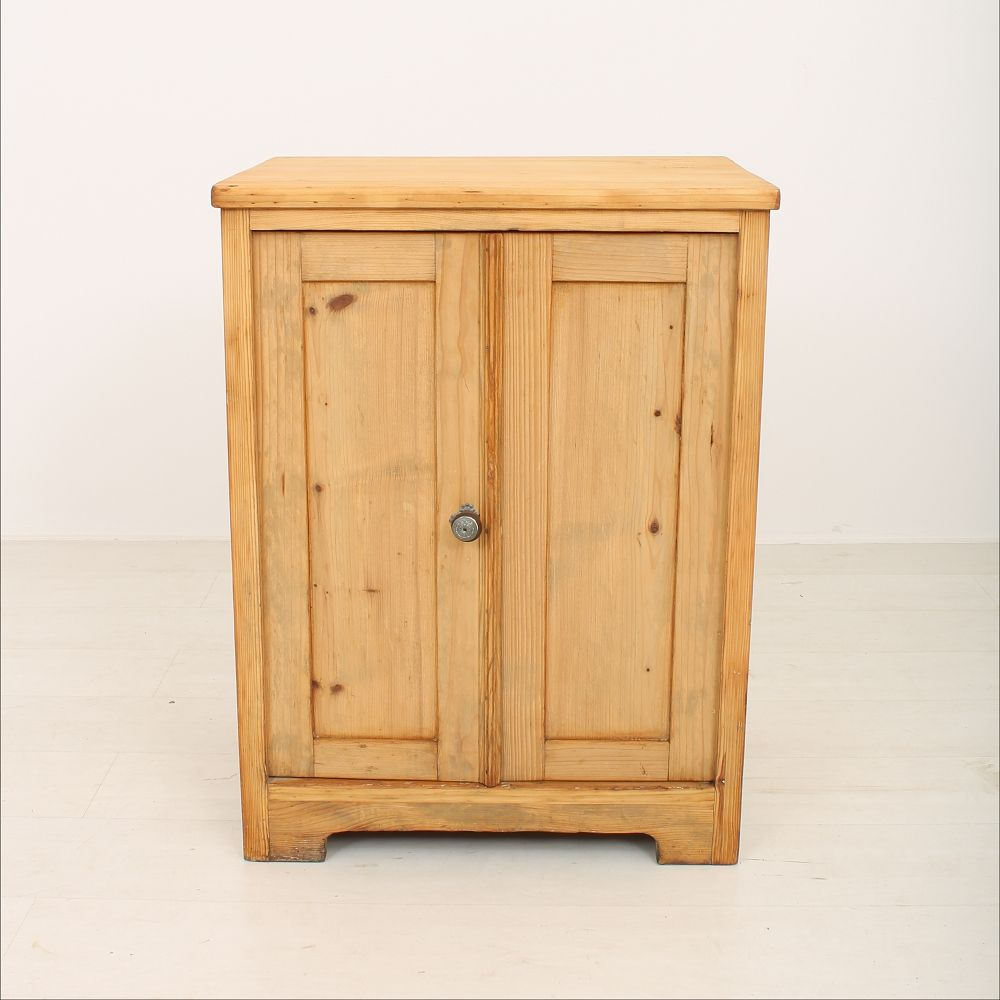 Small spruce wood cabinet for sale at pamono