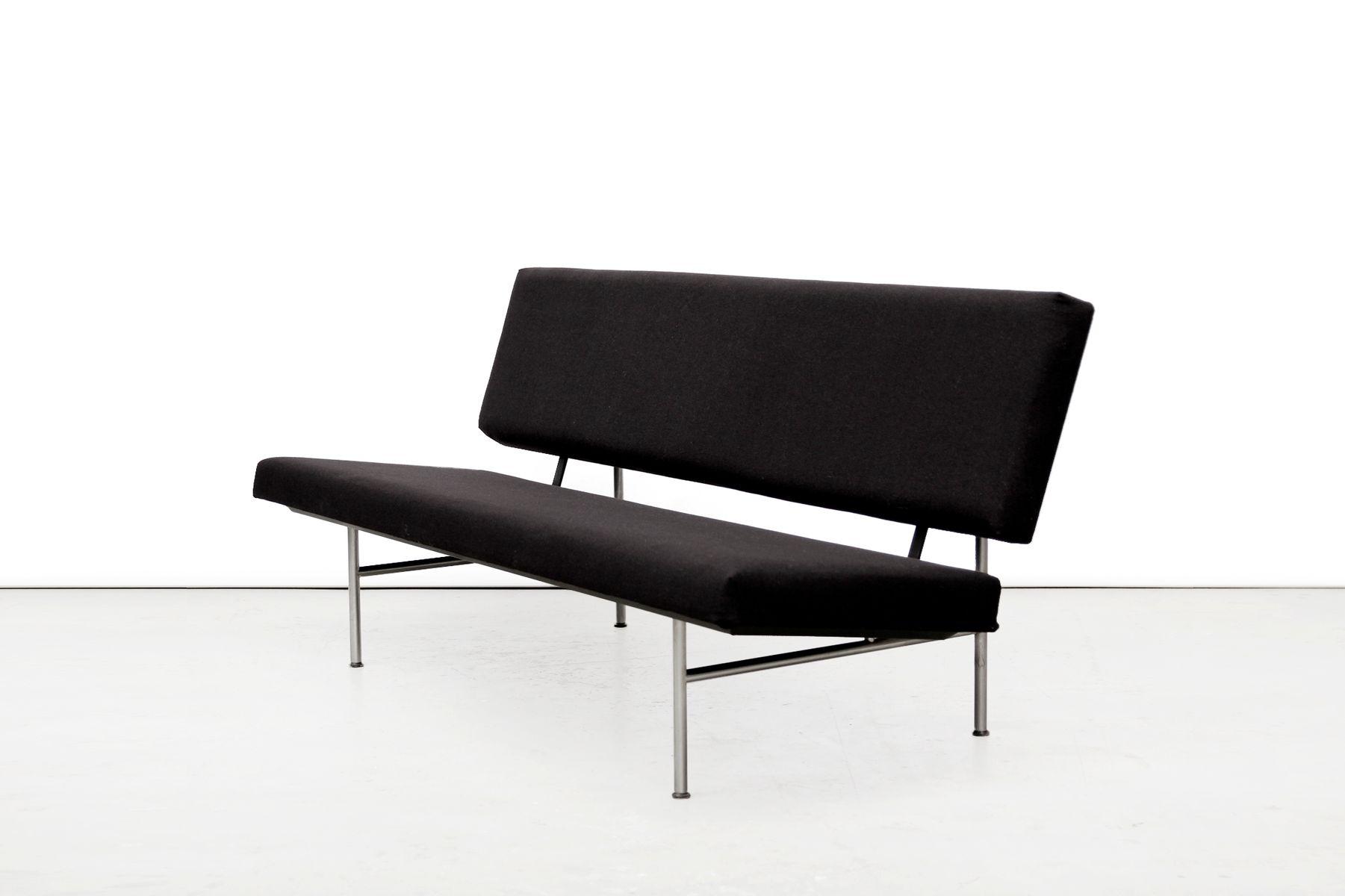 schwarzes sofa von a r cordemeyer f r gispen 1963 bei pamono kaufen. Black Bedroom Furniture Sets. Home Design Ideas