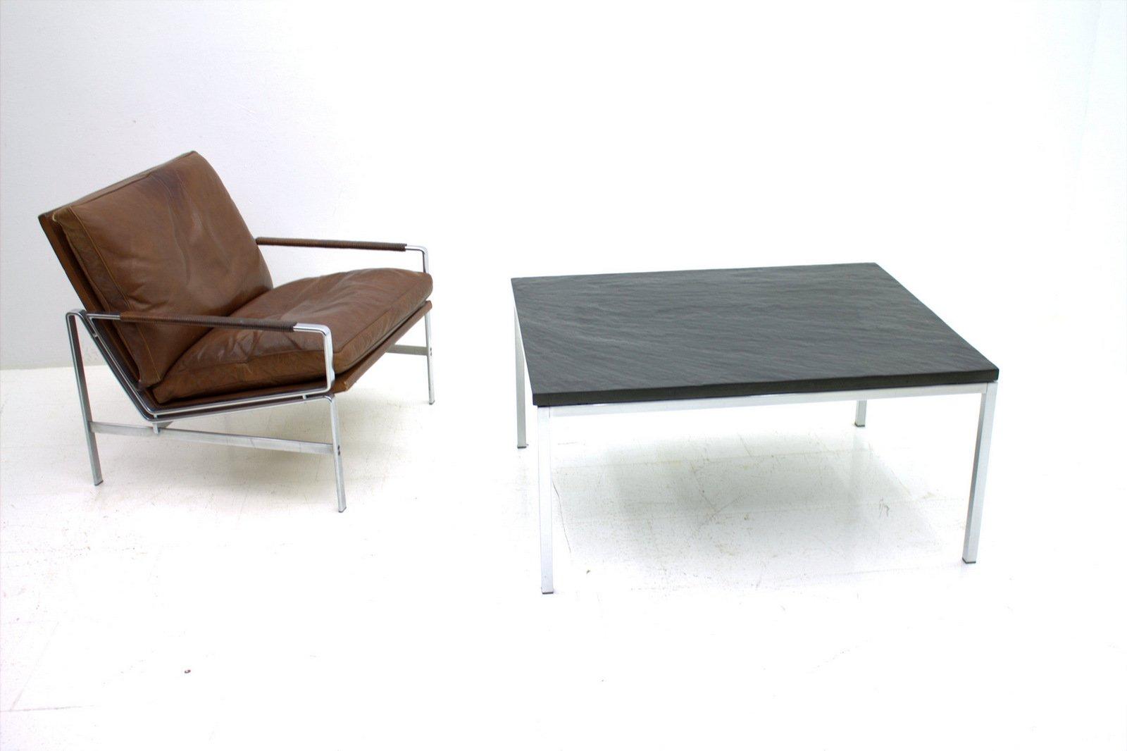 table basse par florence knoll bassett pour knoll en vente. Black Bedroom Furniture Sets. Home Design Ideas