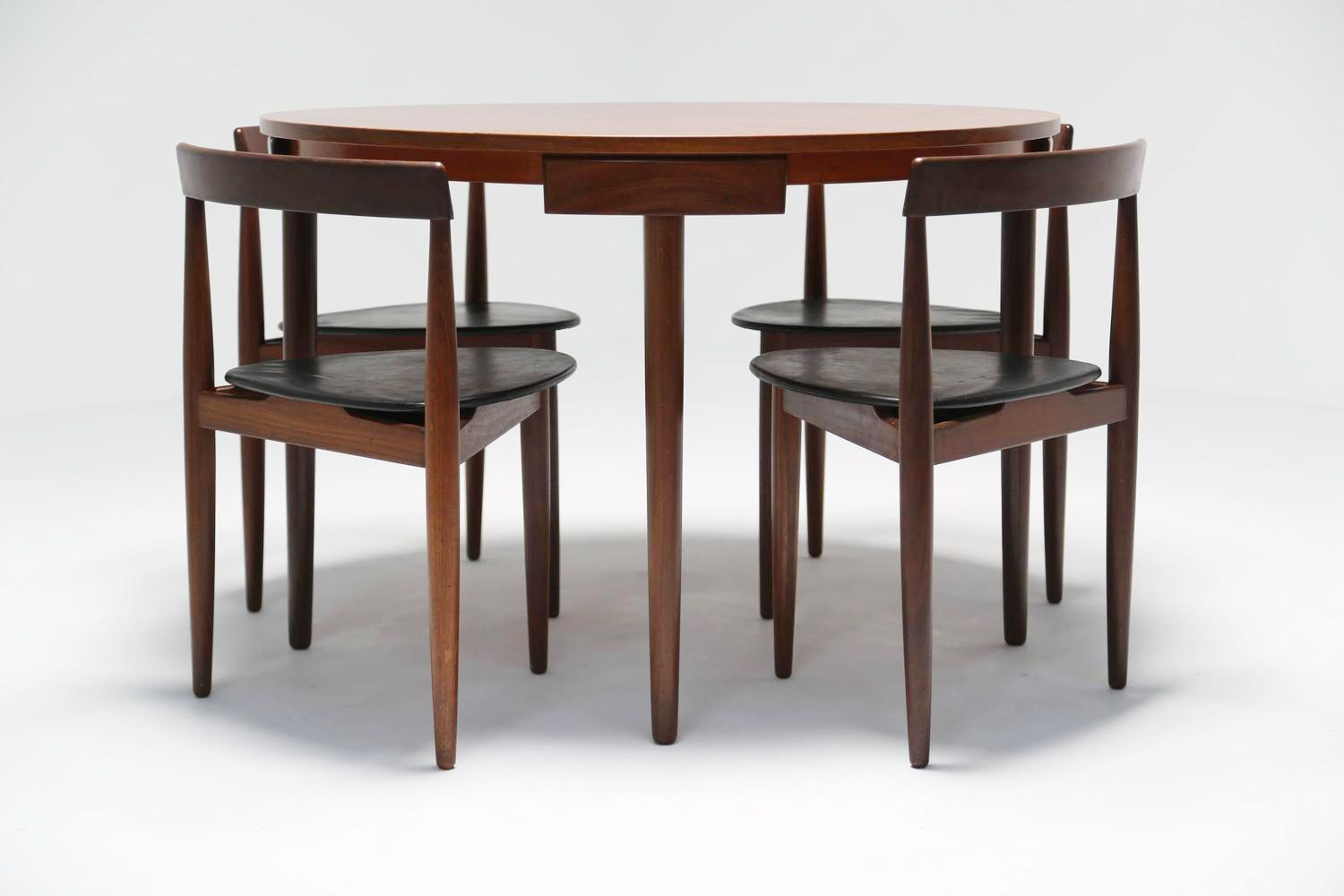 Roundette Dining Table And Chairs By Frem R Jle For Sale At Pamono