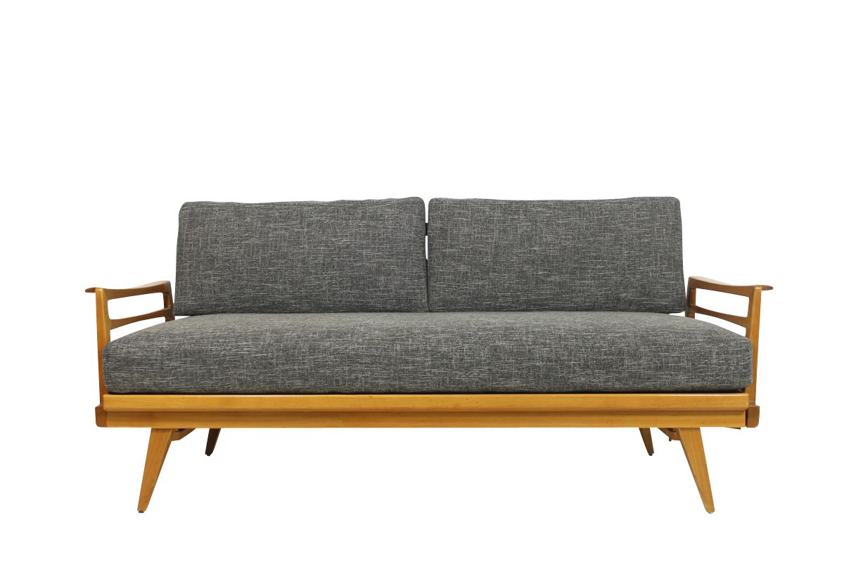 Mid Century Modern Extendable Sofa From Knoll Antimott For Sale At Pamono