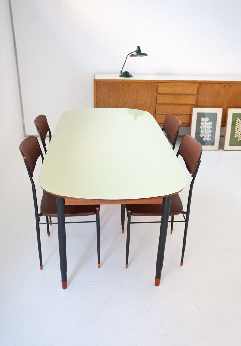 Italian mid century modern dining table for sale at pamono for Modern dining tables sale