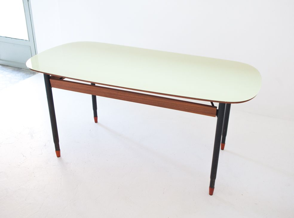 Italian Mid Century Modern Dining Table for sale at Pamono : italian mid century modern dining table 1 from www.pamono.com size 984 x 729 jpeg 269kB