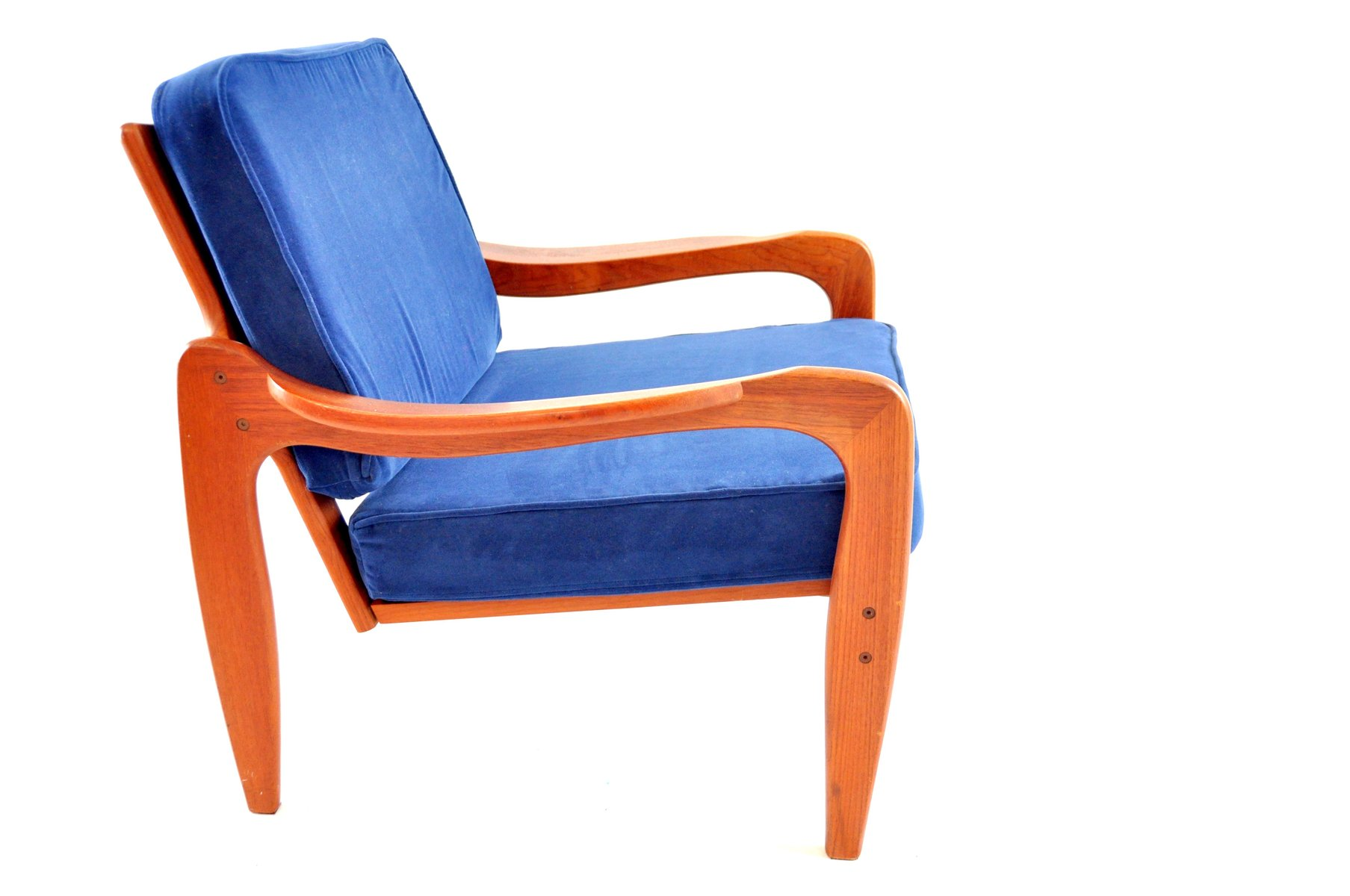 Vintage Danish Teak Lounge Chair from Komfort for sale at Pamono