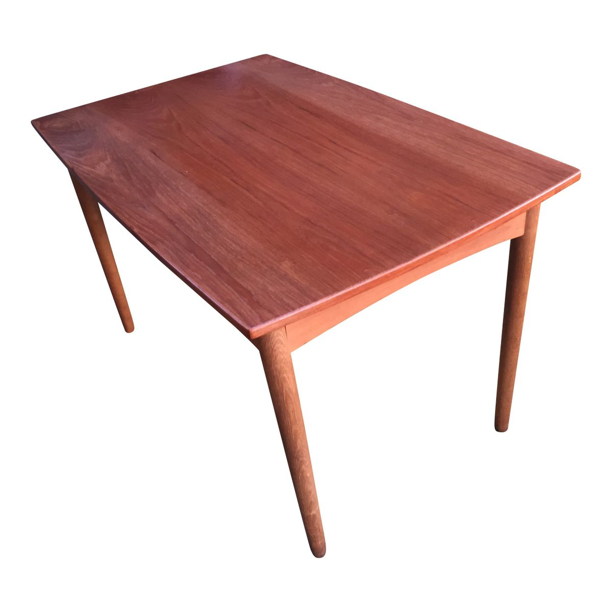 Extendable Scandinavian Teak Dining Table 1960s For Sale At Pamono