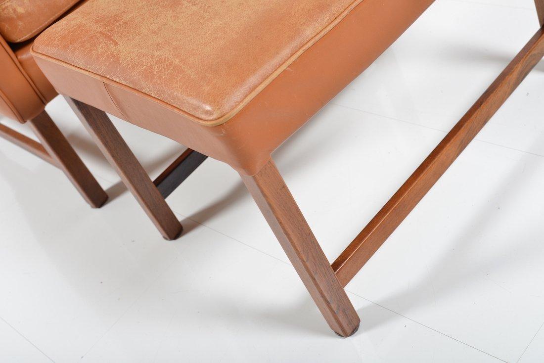 modell vatne 965 sessel mit fu hocker von frederik kayser f r vatne m bler bei pamono kaufen. Black Bedroom Furniture Sets. Home Design Ideas