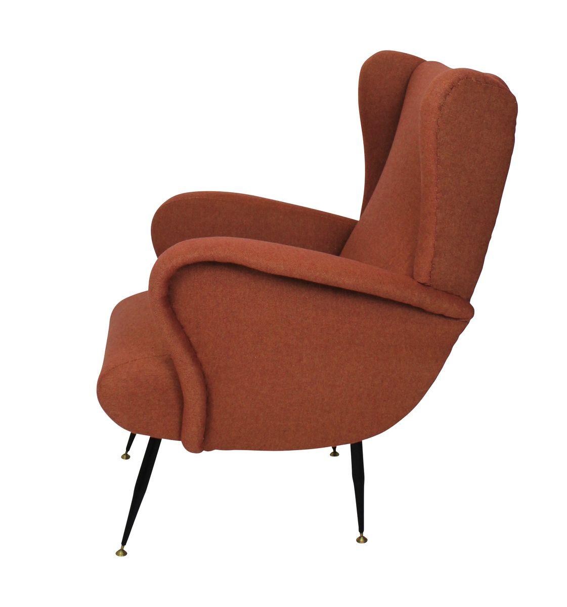 italienische vintage sessel 1950er 2er set bei pamono kaufen. Black Bedroom Furniture Sets. Home Design Ideas