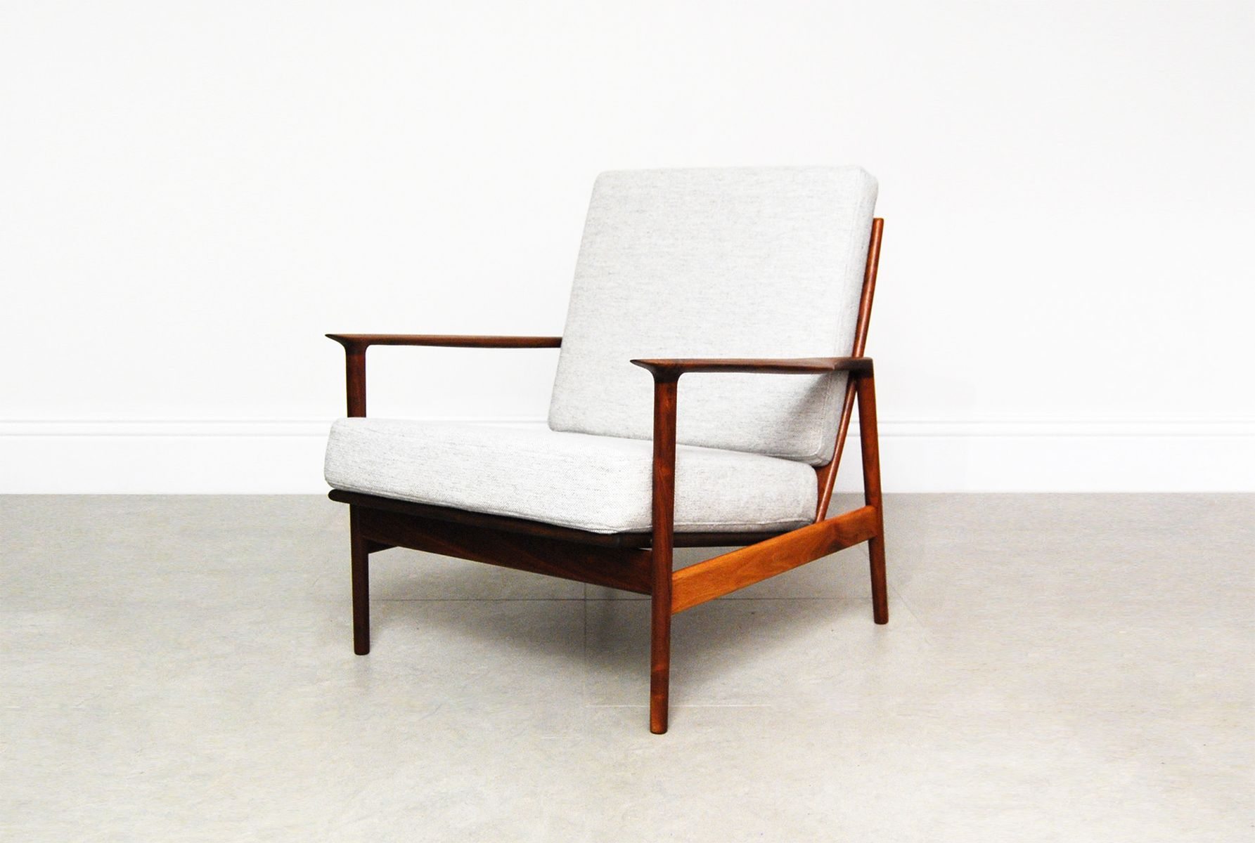 Lounge chair by ib kofod larsen for selig for sale at pamono - Selig z chair for sale ...