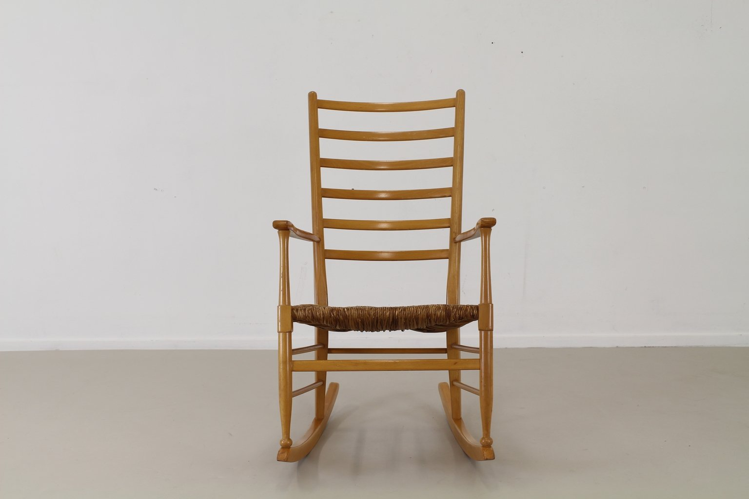 Niederl ndischer schaukelstuhl 1965 bei pamono kaufen for Schaukelstuhl skandinavisch