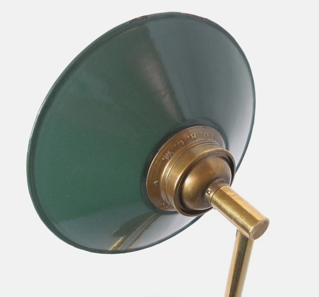 Small Brass Amp Enamel Wall Lamp For Sale At Pamono