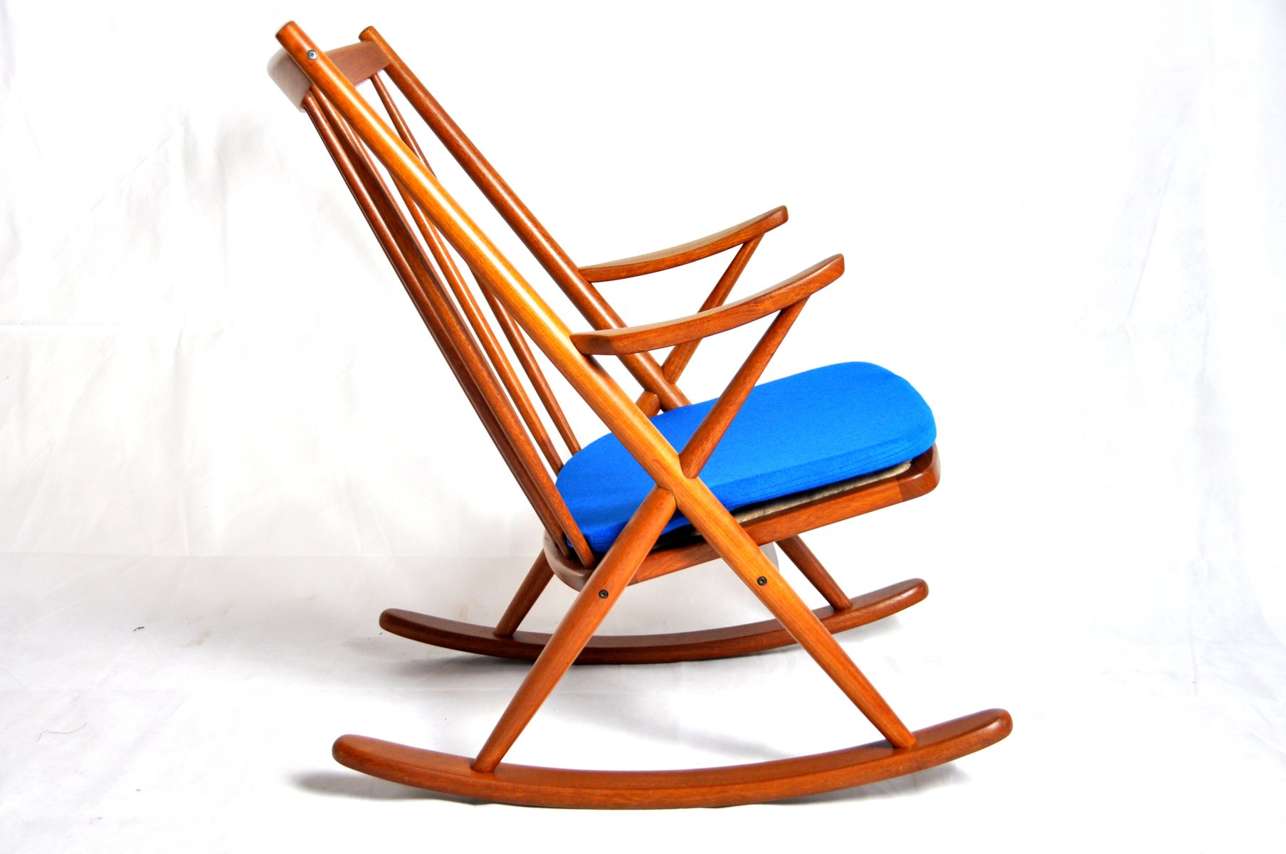 Frank reenskaug rocking chair - Rocking Chair 182 By Frank Reenskaug For Bramin M Bler For Sale At Pamono