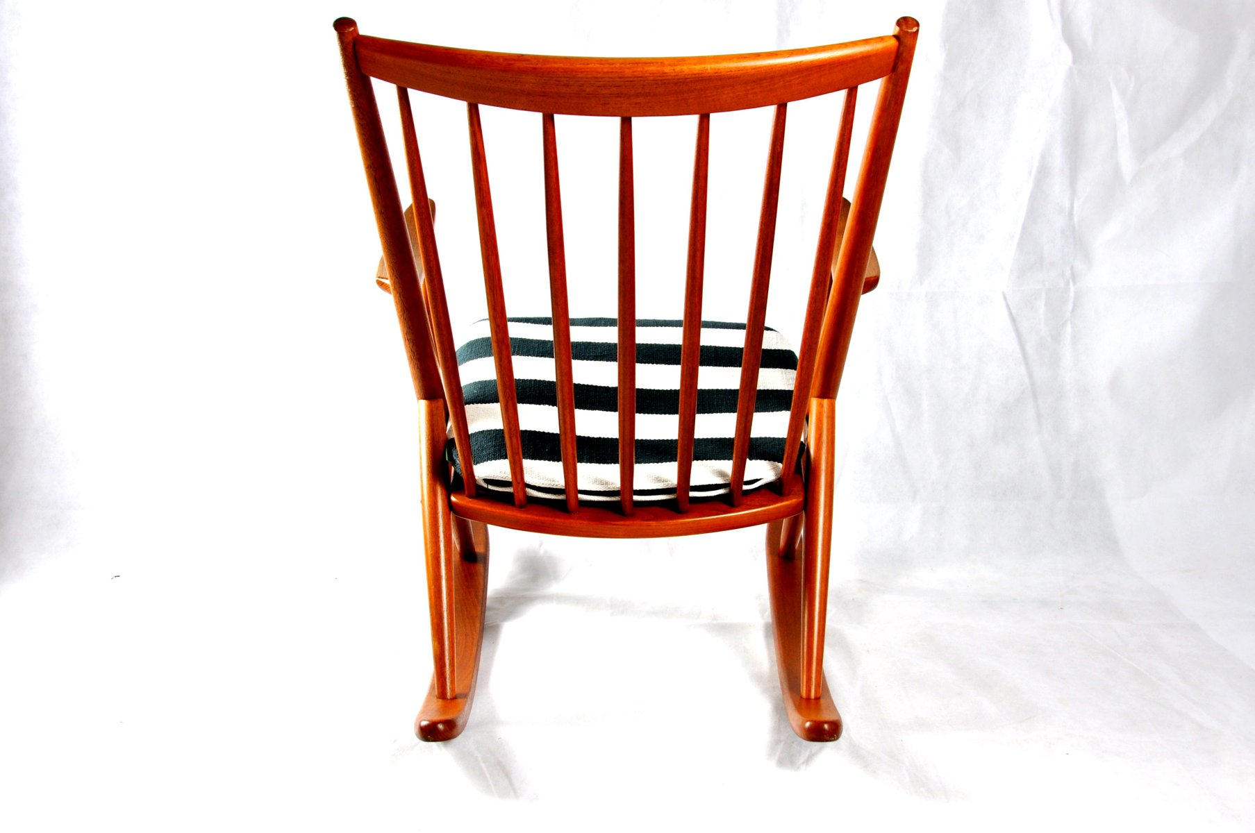 Rocking Chair 182 by Frank Reenskaug for Bramin for sale