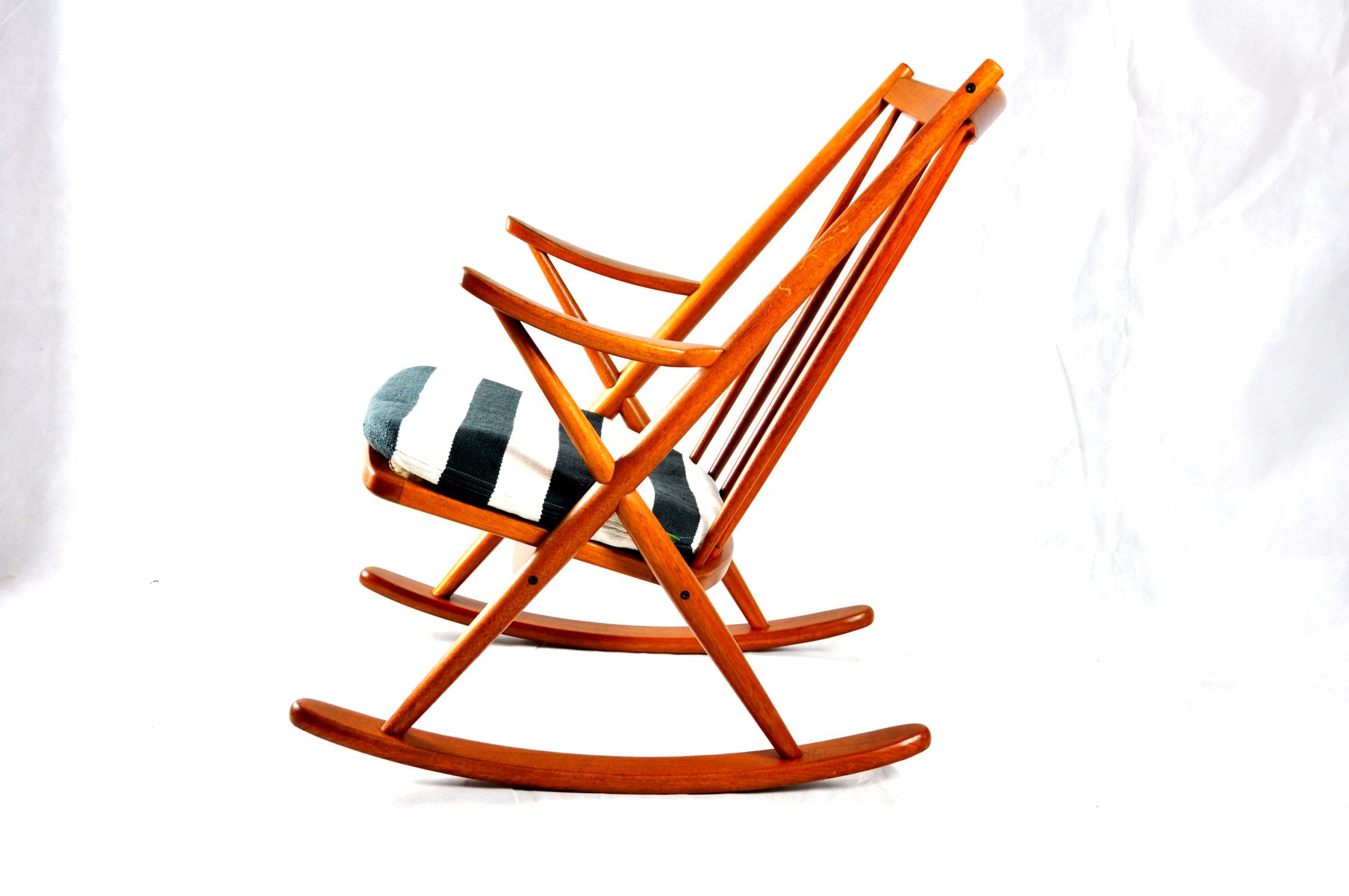 Frank reenskaug rocking chair - Rocking Chair 182 By Frank Reenskaug For Bramin 5 1 393 00