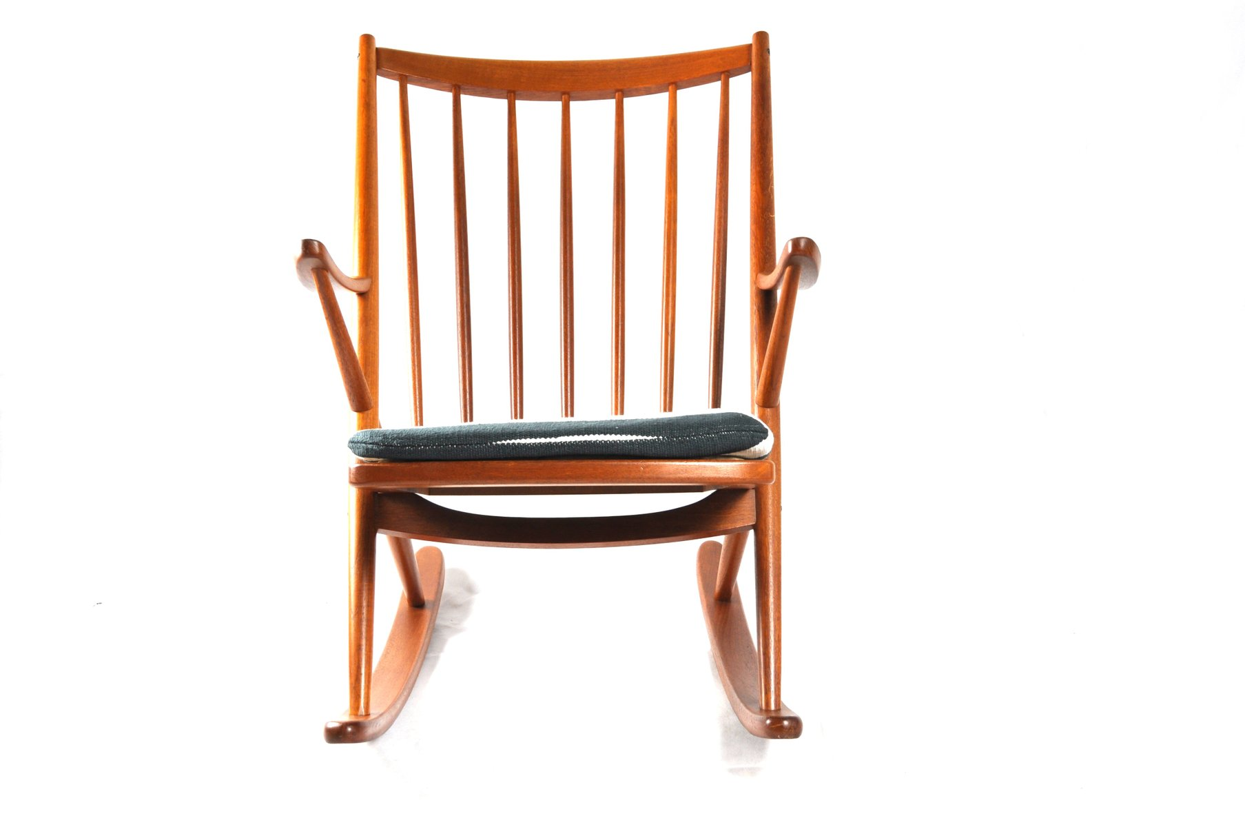 Rocking Chair 182 by Frank Reenskaug for Bramin for sale at Pamono