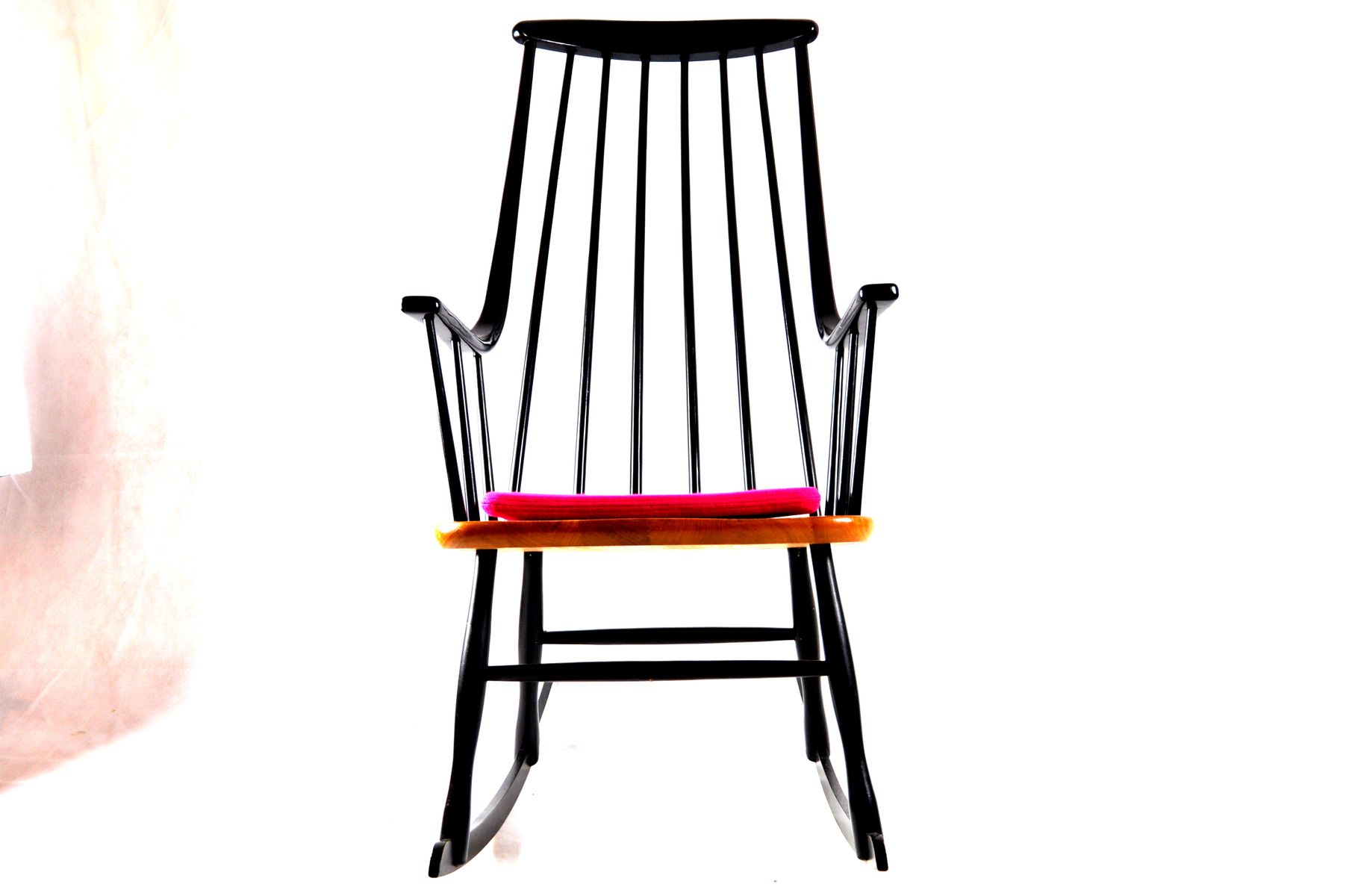 Rocking Chair by Cees Braakman for Pastoe for sale at Pamono