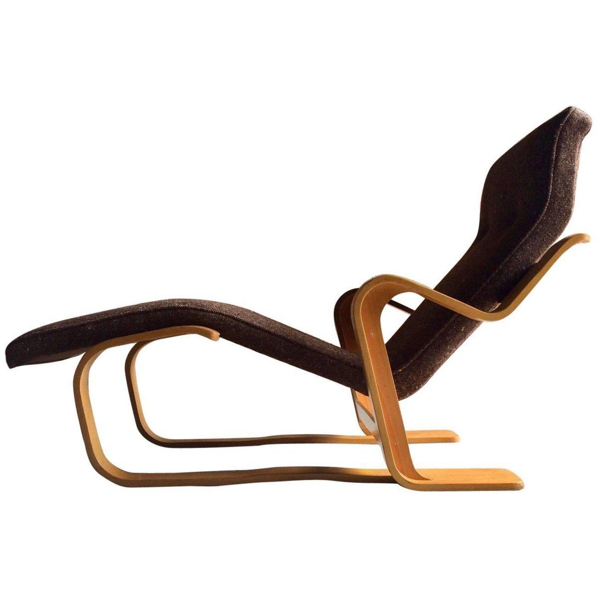 bauhaus chaise lounge by marcel breuer for knoll 1970s for sale at pamono. Black Bedroom Furniture Sets. Home Design Ideas