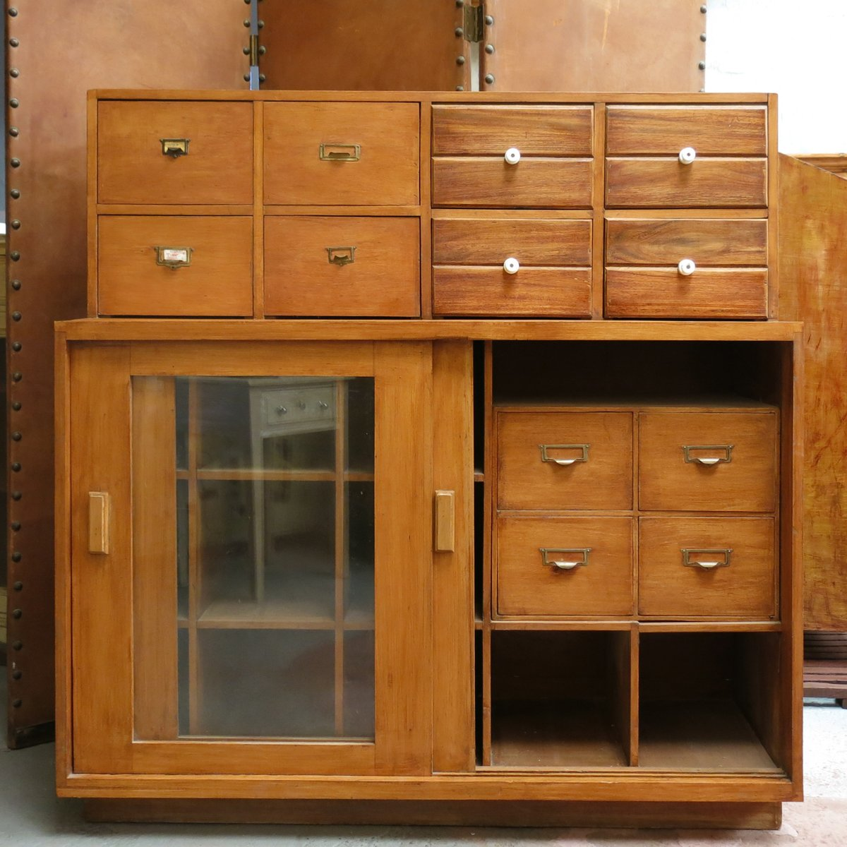 Damaged Kitchen Cabinets For Sale: Vintage Pharmacy Lab Cabinet, 1940s For Sale At Pamono