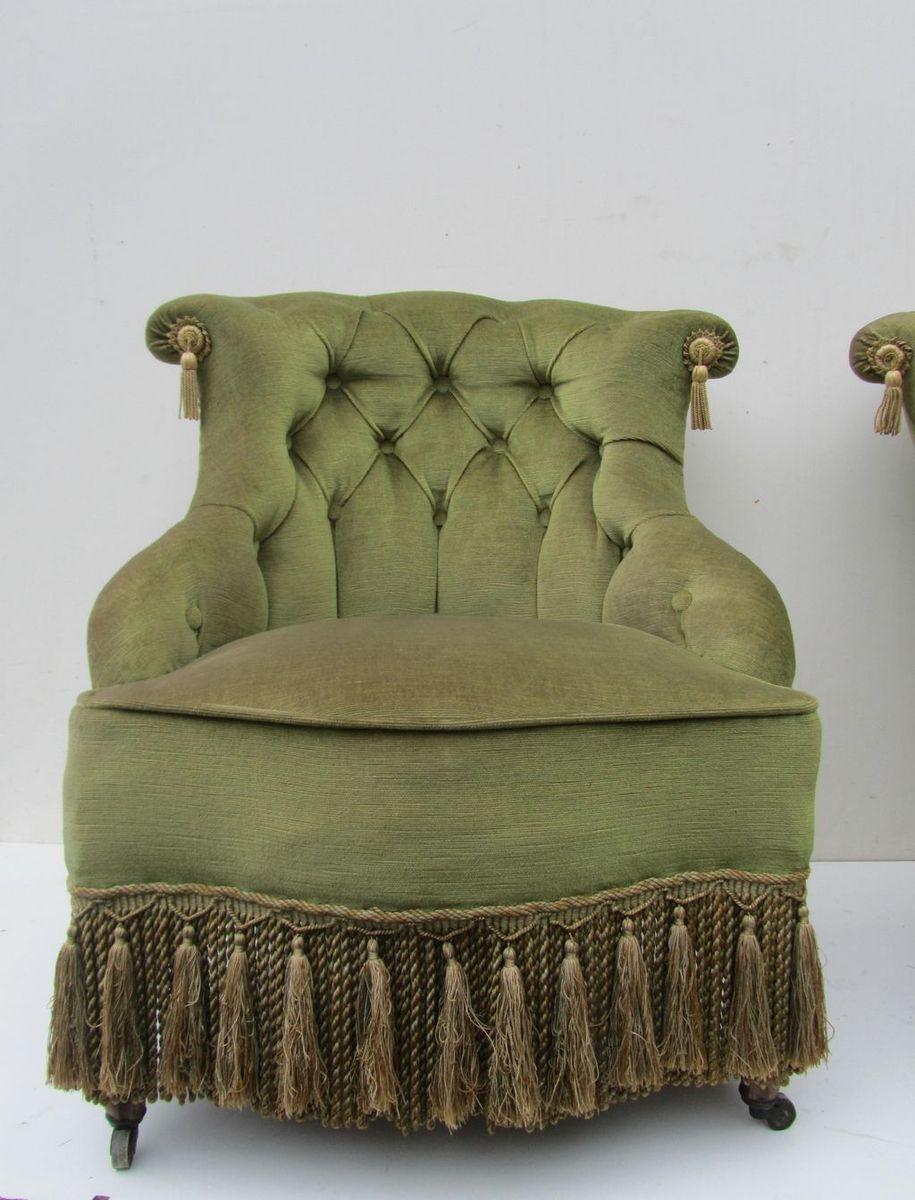 Antique velvet chairs - Price 1 210 00 Regular Price 1 335 00