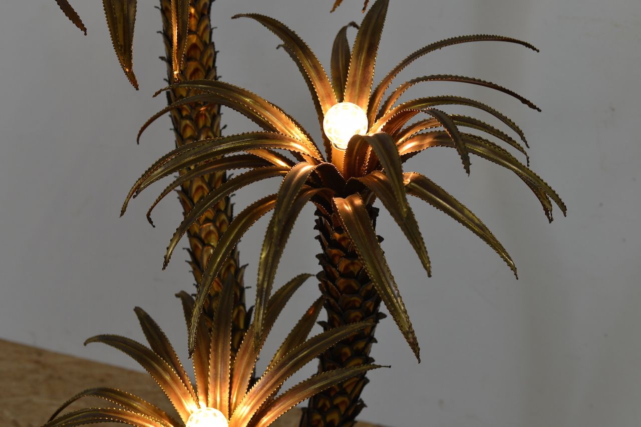 palmen stehlampe von maison jansen bei pamono kaufen. Black Bedroom Furniture Sets. Home Design Ideas