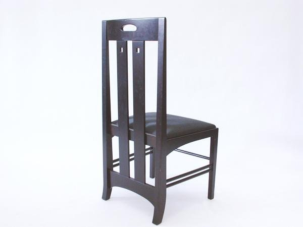 stuhl von charles rennie mackintosh f r cassina bei pamono kaufen. Black Bedroom Furniture Sets. Home Design Ideas