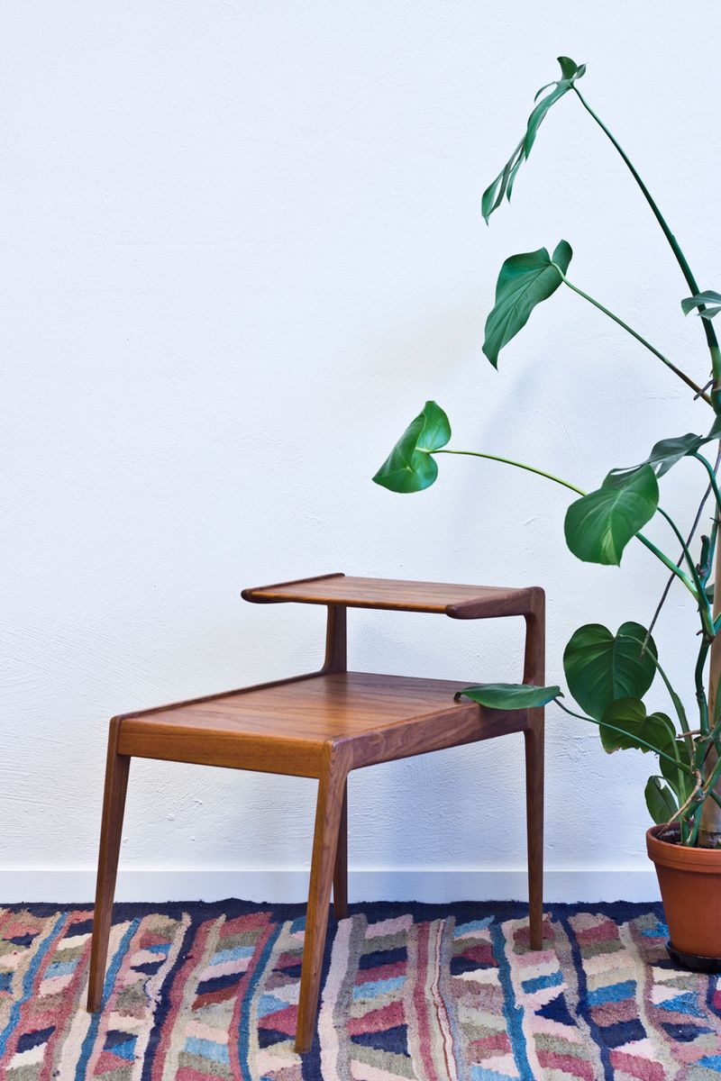 Teak Side Table by Kurt Østervig for Jason Møbler for sale at Pamono