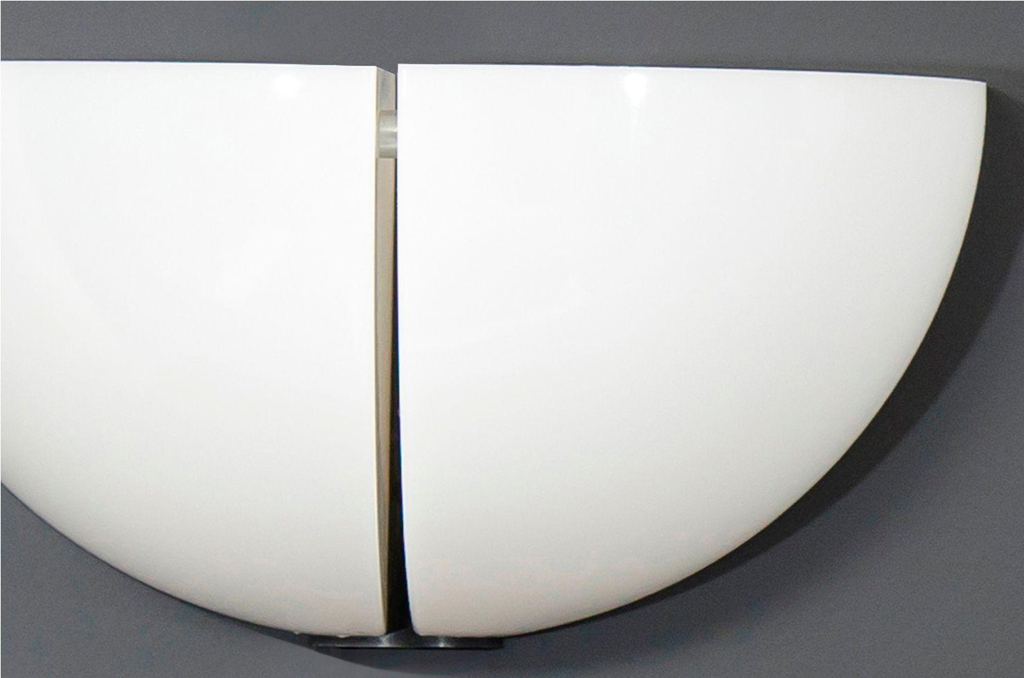 wei e plexiglass wandleuchten von stilnovo 2er set bei pamono kaufen. Black Bedroom Furniture Sets. Home Design Ideas