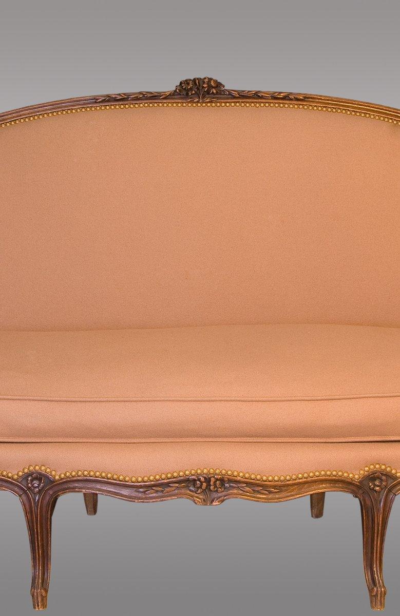 canap antique louis xv france en vente sur pamono. Black Bedroom Furniture Sets. Home Design Ideas