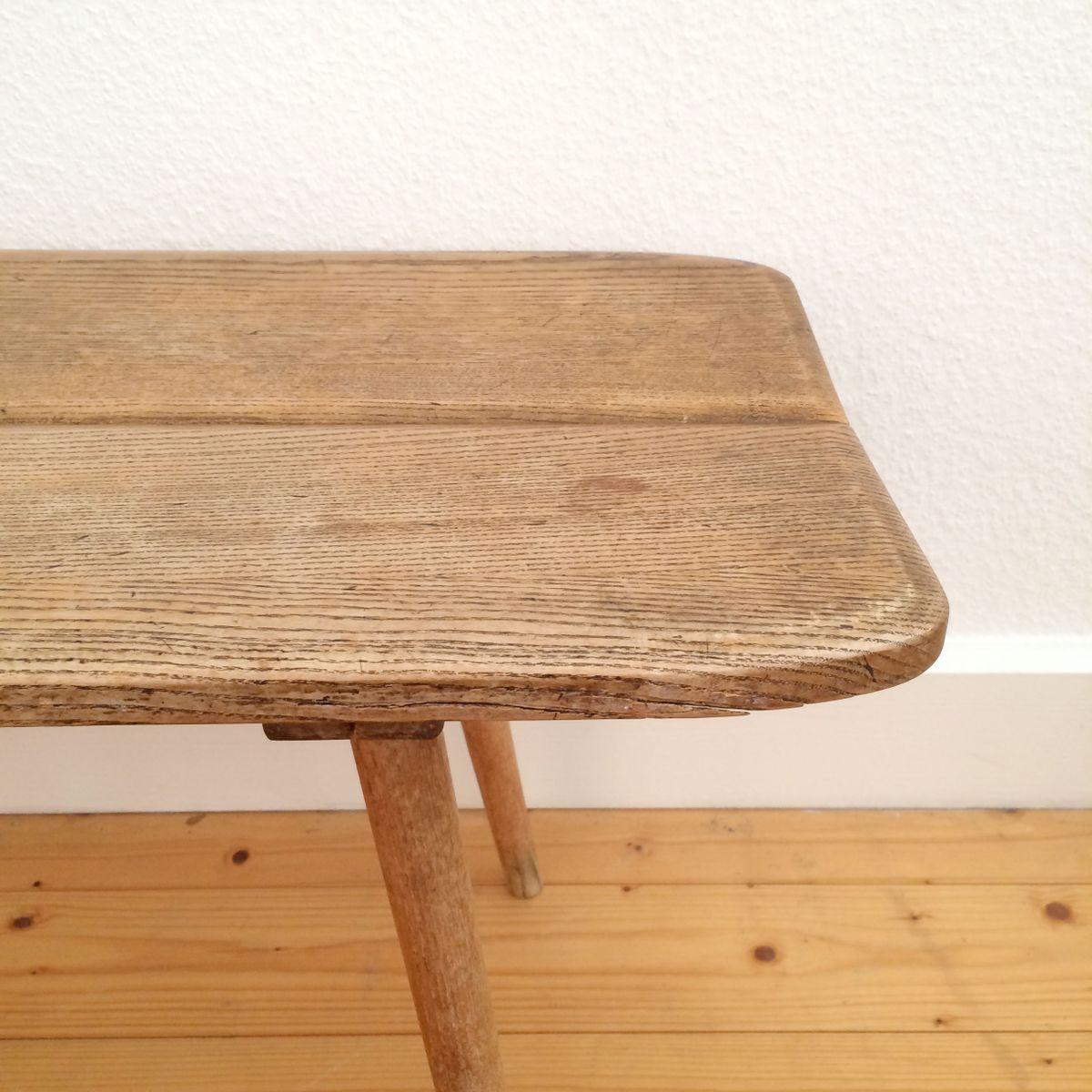 vintage bank aus holz von jacob m ller f r wohnhilfe z rich bei pamono kaufen. Black Bedroom Furniture Sets. Home Design Ideas