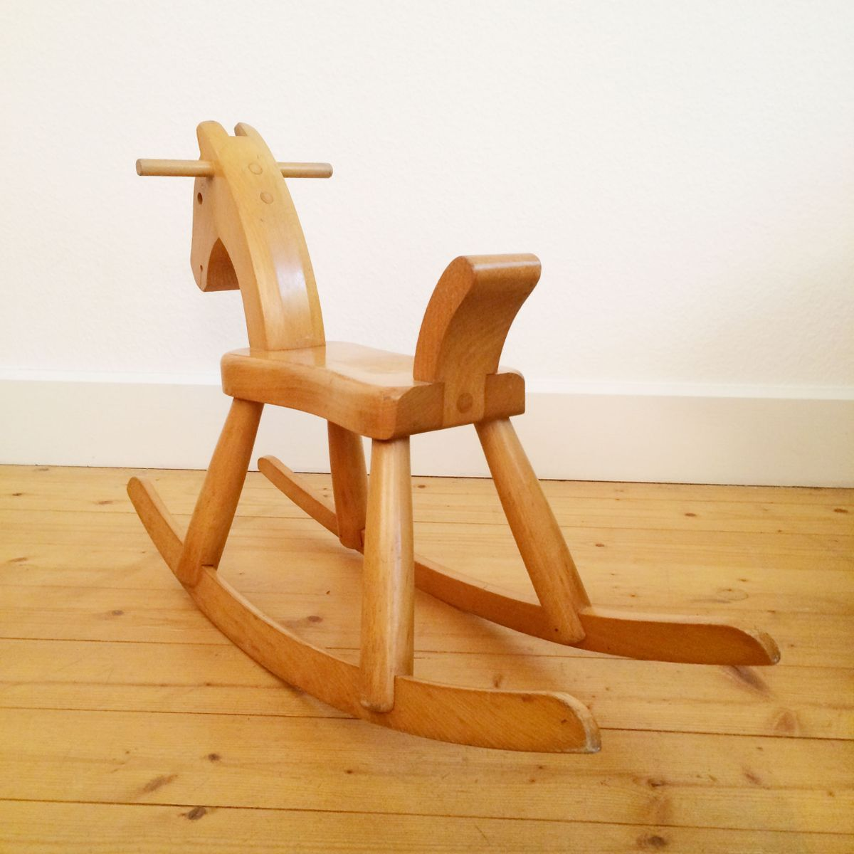 Vintage wooden rocking horse by kay bojesen for sale at pamono for Vintage horseshoes for sale