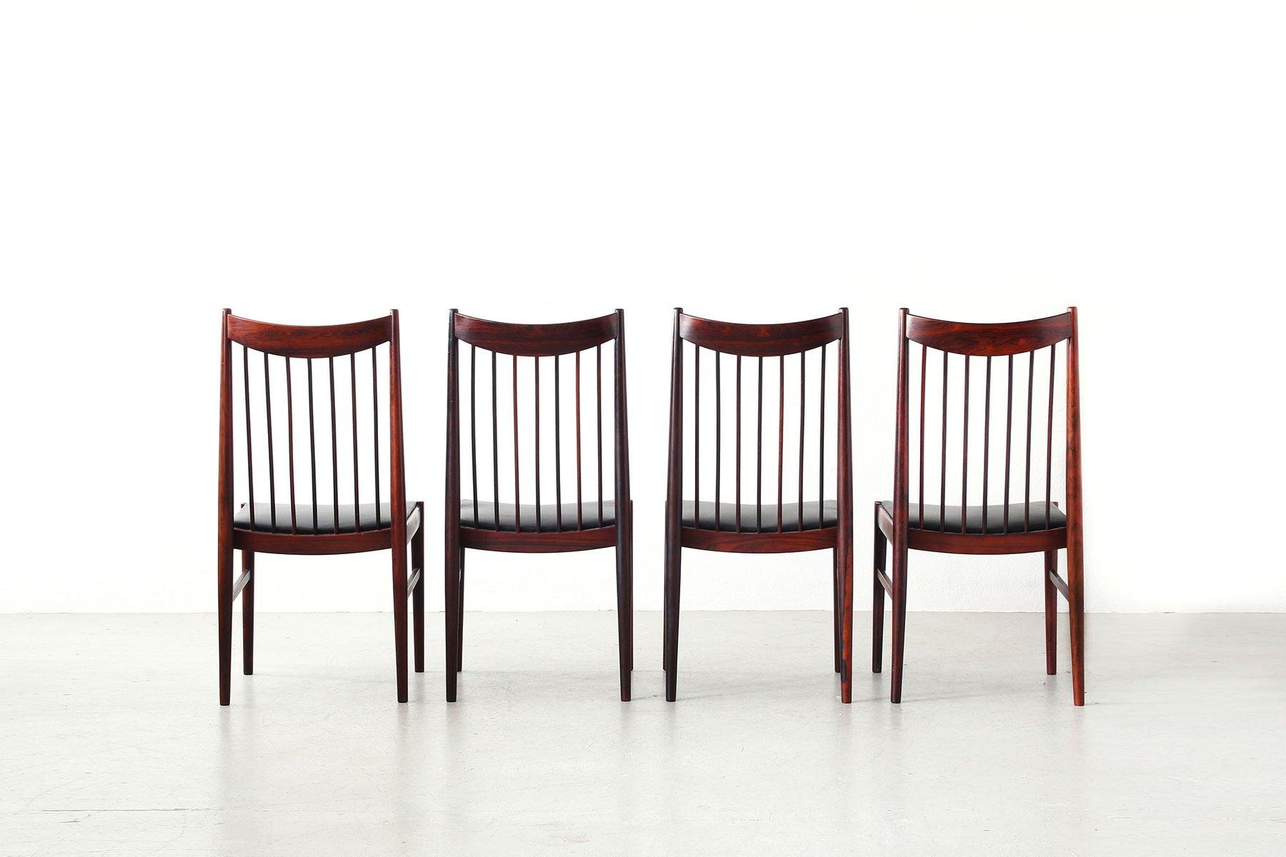 schwarze leder esszimmer stühle | möbelideen, Esszimmer dekoo