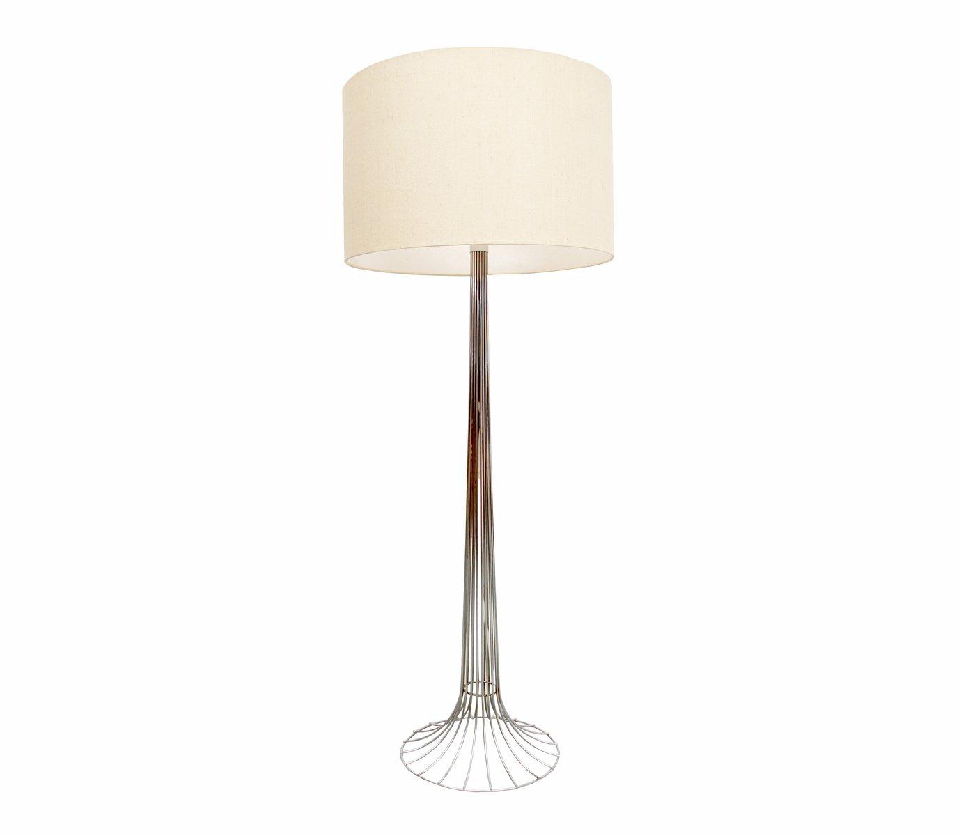 vintage draht stehlampe von verner panton f r fritz hansen bei pamono kaufen. Black Bedroom Furniture Sets. Home Design Ideas