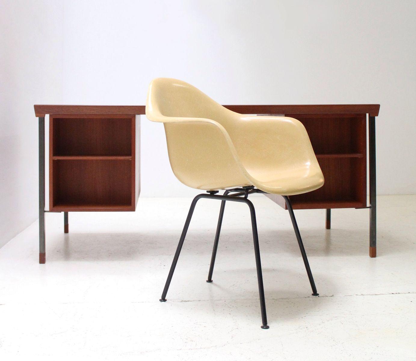 Mustard fiberglass armchair by charles ray eames for herman miller 196 - Herman miller france ...