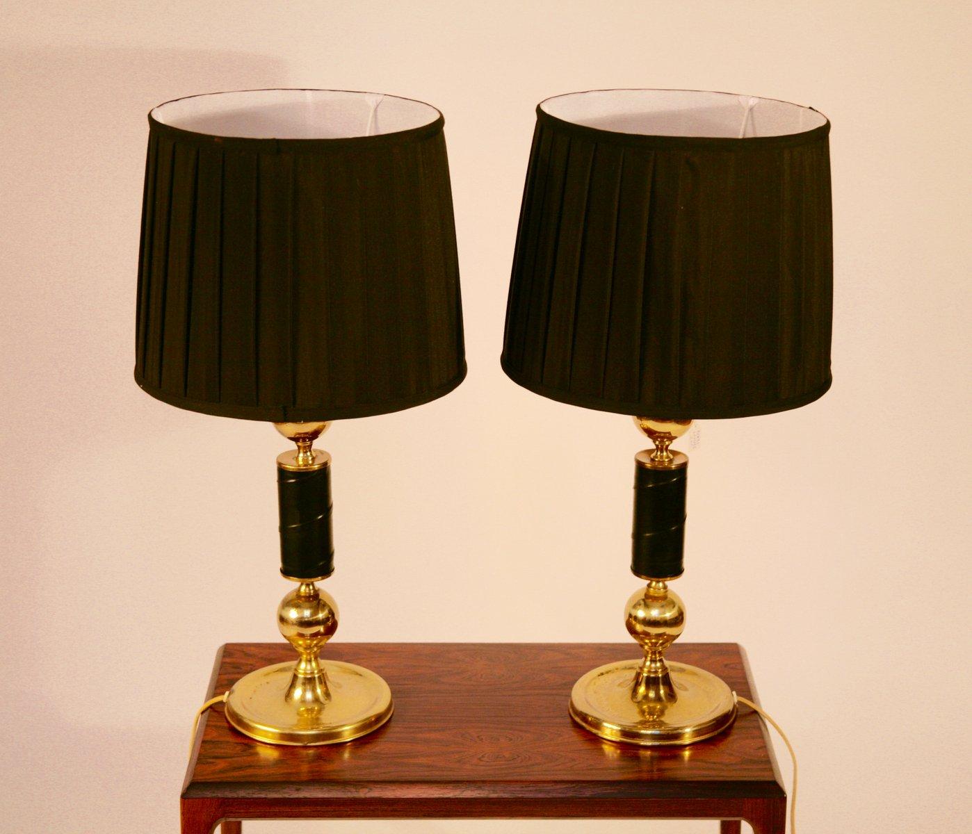 Lampade da tavolo vintage svezia set di 2 in vendita su - Lampade da tavolo vintage ...